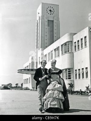 PATTI MORGAN (CHAMOUN) 1928-2001 - Australian-born fashion model and film actress in 1948 - see Description below - Stock Photo