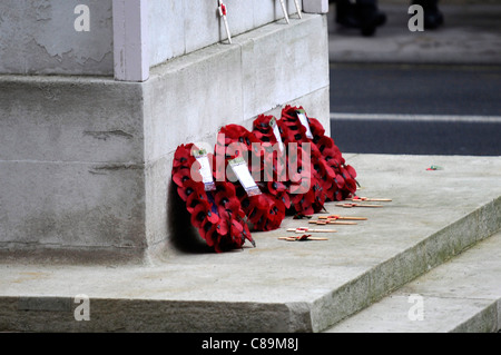 General Views of the Remembrance Sunday Service at the Cenotaph London 2010 - Image Copyright Ben Pruchnie - Stock Photo