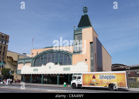 Stillwell Avenue Subway Station - Stock Photo