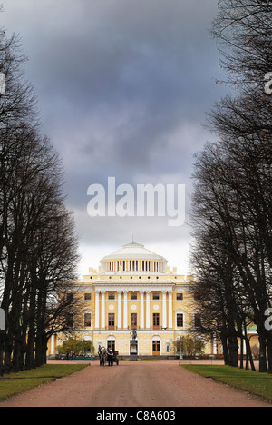 Pavlovsk Palace, St. Petersburg, Russia - Stock Photo
