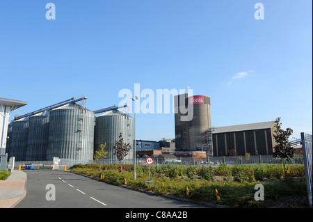 Coors Brewery at Burton-on-Trent Staffordshire England Uk - Stock Photo
