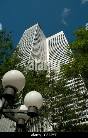 Place Ville Marie, Montreal tallest building in downtown, Quebec, Canada - Stock Photo