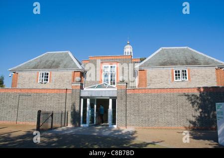 The Serpentine Gallery art museum Kensington Gardens park west London England UK Europe - Stock Photo