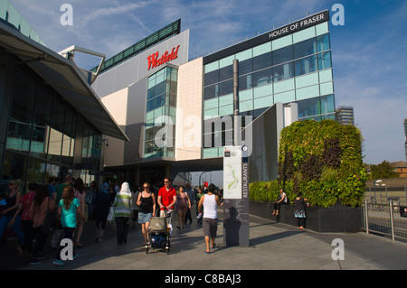 Westfield shopping centre Shepherd's Bush district west London England UK Europe - Stock Photo