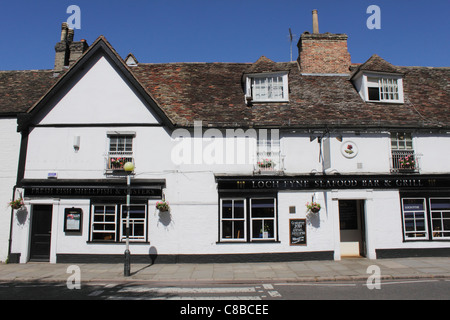 Loch Fyne Seafood Bar and Grill Trumpington Street Cambridge - Stock Photo