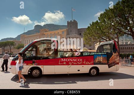 Monaco Ville: Grand Tour - Stock Photo