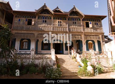 Elk200-4194 Ethiopia, Harar, old town, Rimbaud House - Stock Photo