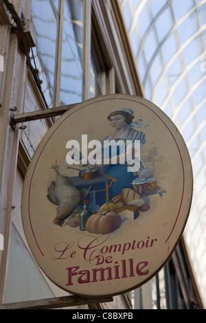 France paris passage jouffroy traditional toys shop pain d 39 epices stock photo royalty free - Comptoir de famille online shop ...