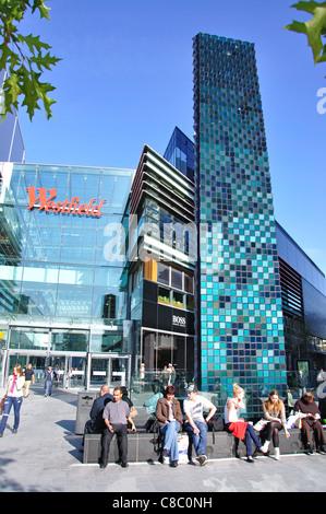 Westfield Shopping Centre, Stratford City, Stratford, Newham Borough, London, Greater London, England, United Kingdom - Stock Photo