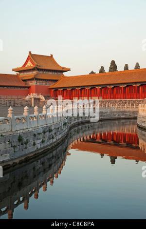 China, Beijing, Palace Museum or Forbidden City - Stock Photo