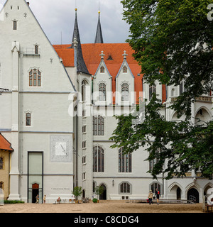 The Albrechtsburg palace of Meissen, Meissen near Dresden, Saxony, Germany, Europe. - Stock Photo