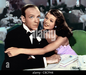 FRED ASTAIRE & RITA HAYWORTH YOU'LL NEVER GET RICH (1941) - Stock Photo