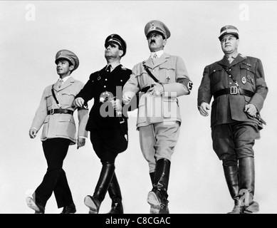 MARTIN KOSLECK, VICTOR VARCONI, BOBBY WATSON, ALEX POPE, THE HITLER GANG, 1944 - Stock Photo