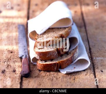 slices of bread - Stock Photo