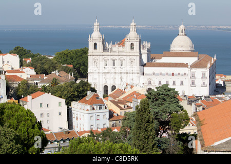 Monastery 'São Vicente de Fora' - Stock Photo