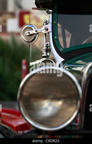 Vintage Whipper, front detail - Stock Photo
