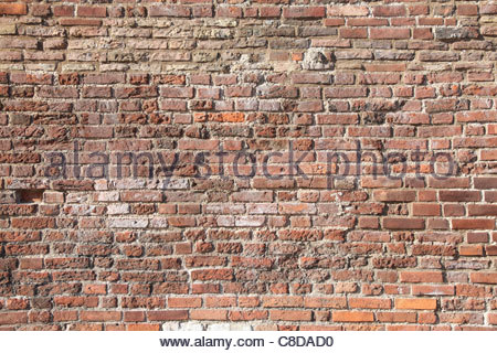Abstract background with old brick wall. - Stock Photo