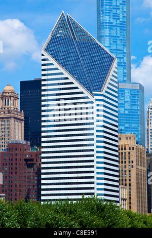 Smurfit-Stone Building, Chicago, Illinois - Stock Photo