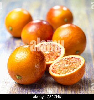 Blood oranges - Stock Photo