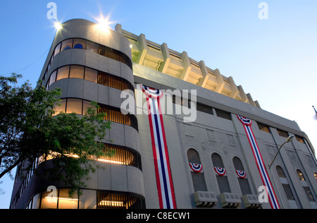 old Yankee Stadium just before it was torn down. Image taken July 03, 2008 in the Bronx, New York. - Stock Photo
