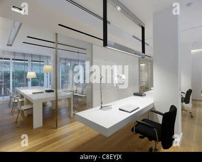 Interior of a office space - Stock Photo