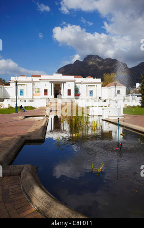 National Gallery, Company's Gardens, City Bowl, Cape Town, Western Cape, South Africa - Stock Photo
