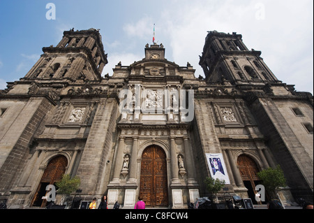 Cathedral Metropolitana, District Federal, Mexico City, Mexico - Stock Photo