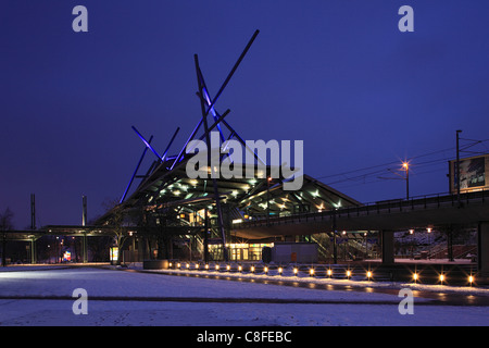 Germany, Europe, Oberhausen, Ruhr area, Lower Rhine, North Rhine-Westphalia, Germany, Europe, Oberhausen-Neue Mitte, - Stock Photo
