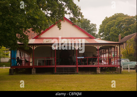 The Muzzle Loaders Association of Great Britain club house at the National Rifle Association, Bisley Surrey. UK - Stock Photo