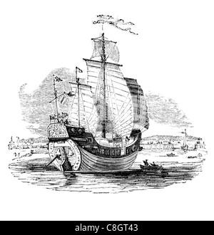 trading Chinese trading junk ancient Chinese sailing vessel Junks Han Dynasty Asia ocean voyage Hong Kong junk-rigged sailboat