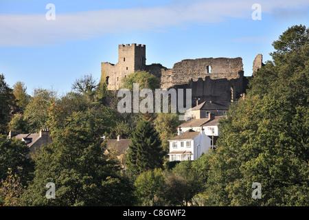 Richmond Castle, North Yorkshire, England - Stock Photo
