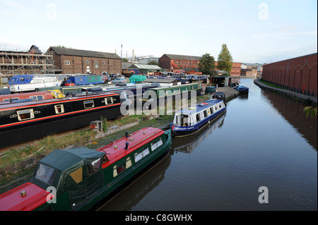 Longport Wharf Burslem Stoke on Trent Staffordshire Uk - Stock Photo