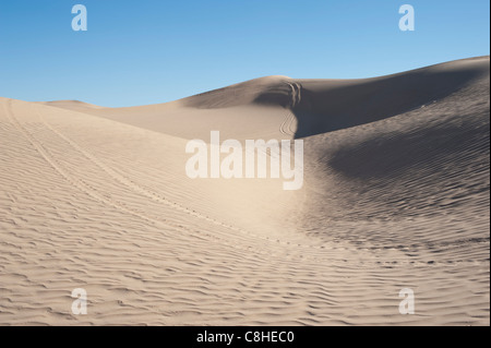 Imperial Sand Dunes Recreation Area - the largest sand dunes in North America - near El Centro, California, USA - Stock Photo