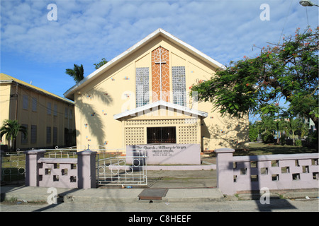 Anglican Church of St Mary the Virgin, North Front Street, Fort George, Belize City, Belize, Caribbean, Central - Stock Photo