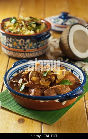 India food chicken xacuti and coconut rice goa stock photo 8461789 chicken xacuti with coconut rice western india food stock photo forumfinder Gallery