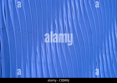 Curve Lines Wall - Stock Photo