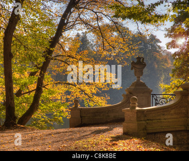 DE - BAVARIA: Autumn in Nymphenburg Palace Park, Munich - Stock Photo