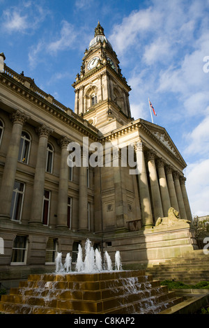 The Albert Halls also known as Bolton Town Hall, Victoria Square, Bolton, Lancashire, UK - Stock Photo