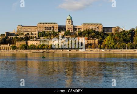 Buda Royal Palace,Buda Királyi Budapest - Stock Photo
