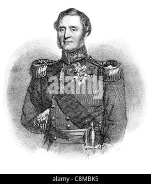 Field Marshal FitzRoy James Henry Somerset 1st Baron Raglan 1788 1855 British soldier expedition to Copenhagen Peninsular - Stock Photo