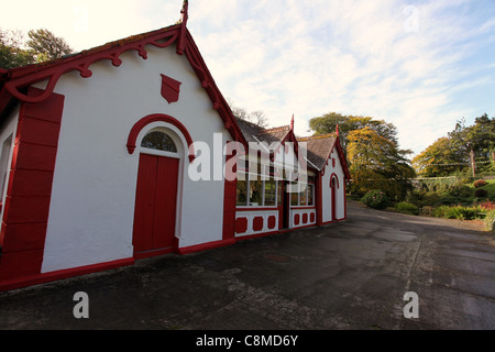 The Lisdoonvarna Spa Well in County Clare - Stock Photo