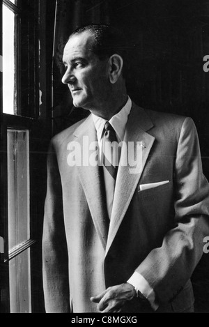 Lyndon B. Johnson was the 36th President of the United States - Stock Photo