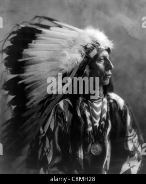 Jack Red Cloud, Indian Chief - Stock Photo