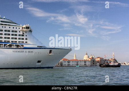 Venice  Royal Caribbean Voyager Of The Seas Cruise Ship Stock Photo Royalty