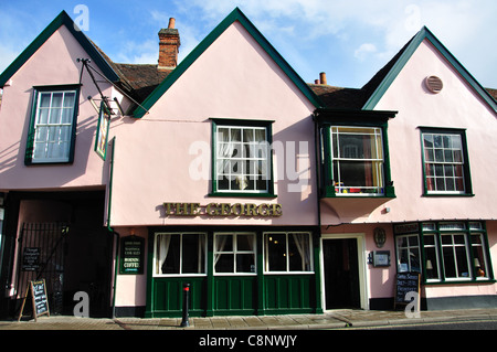 The George, High Street, Hadleigh, Suffolk, England, United Kingdom - Stock Photo