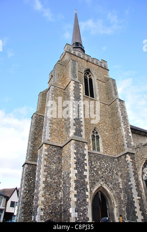 The Church of St Peter and St Mary, Station Road West, Stowmarket, Suffolk, England, United Kingdom - Stock Photo