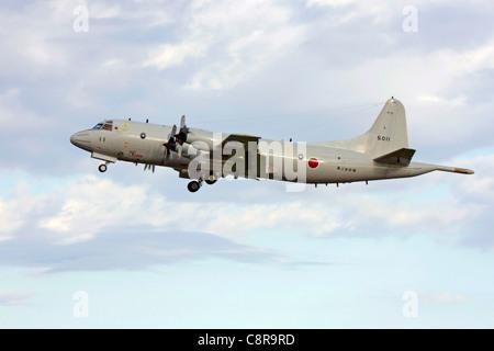 Lockheed P-3C Orion of Japan Maritime Self Defense Fleet Air Force - Stock Photo
