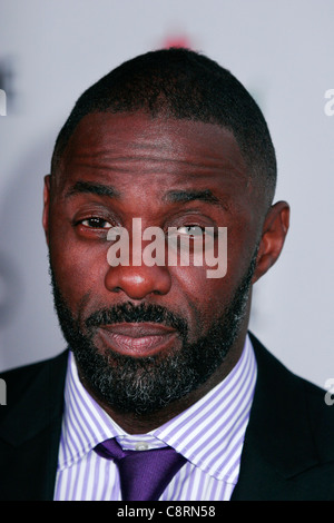 Idris Elba at arrivals for Showtime 2011 EMMY Nominee Reception, SKYBAR at MONDRIAN, Los Angeles, CA September 17, - Stock Photo