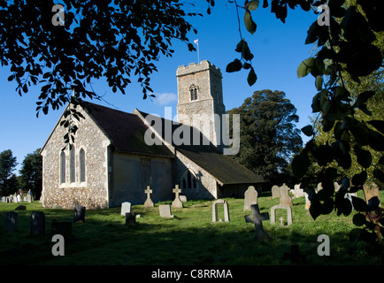 St Margaret of Antioch church, in Shottisham, Suffolk - Stock Photo