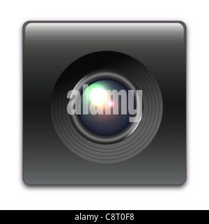 Illustration of device speaker icon - Stock Photo